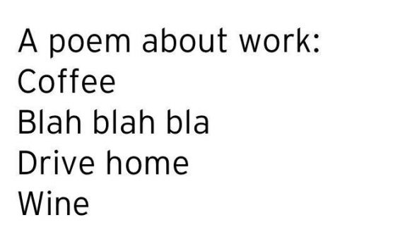 work poem